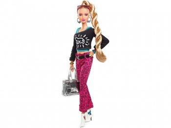 バービー キース・ヘリング ドール 人形 ポーザブル Keith Haring X Barbie Doll (FXD87)