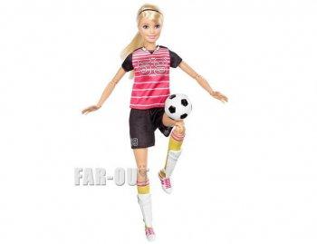 バービー メイドトゥームーブ サッカー選手 ポーザブル ブロンドヘア ドール 人形 Barbie Made To Move