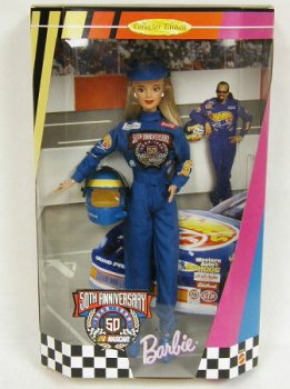 バービー NASCAR No1  50周年記念版