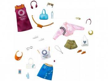 バービー 東京オリンピック 2020 着せ替え ストーリー コンプリート 3点セット ライセンスファッション BARBIE LICENSED FASHION STORYTELLING PACK