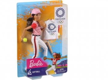 バービー 東京オリンピック 2020 ソフトボール ポーザブル ドール 人形  Barbie Tokyo 2020 Olympic Softball