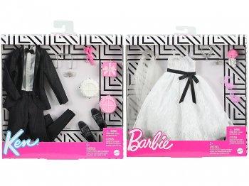 バービー&ケン ウェディング ブライダル ファッション 着せ替え アクセサリー付き 2点セット Barbie & Ken Wedding Bridal Fashion Outfit
