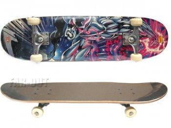 ファンタスティック・フォー シルバーサーファー スケートボード マーベルコミック Marvel Comics Silver Surfer スケボー