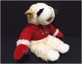 ラムチョップ I Need a Hug トーキング 赤いセーター ぬいぐるみ