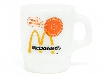 ファイヤーキング マクドナルド Good Morning マグカップ 1970年代 ヴィンテージ Fire King McDonald's