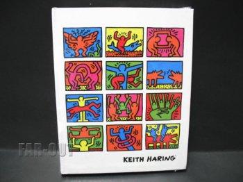 キース・ヘリング アート ハードカバー ブランクノートブック Pop Shop New York Keith Haring Blank Book