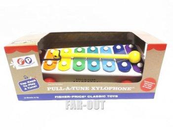 Pull-A-Tune Xylophone ザイロフォン(鉄琴) トイ 復刻版