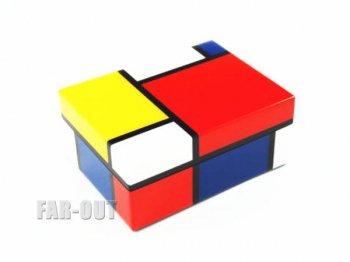 モンドリアン アートボックス ラッカー仕上げ ラージサイズ 小物入れ