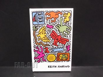 キース・ヘリング アート ハードカバー ノートブック Pop Shop Tokyo Keith Haring Blank Book