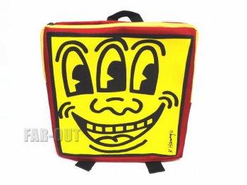 キース・ヘリング アート 三つ目 バックパック リュック Keith Haring Backpack