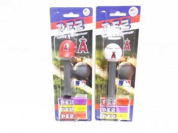 PEZ ロサンゼルス エンゼルス オブ アナハイム ベースボールキャップ&ボール 2点セット 野球 ペッツ LOS ANGELES ANGELS