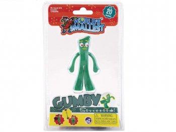 WORLD'S SMALLEST ガンビー ミニチュア フィギュア Retro Collection Gumby