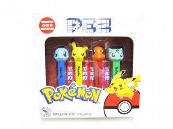 PEZ ポケモン ボックス入り 4点セット ペッツ ポケットモンスター Pokemon