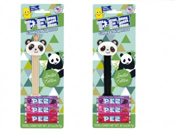 PEZ パンダ 2点セット Panda & Royal Panda ペッツ