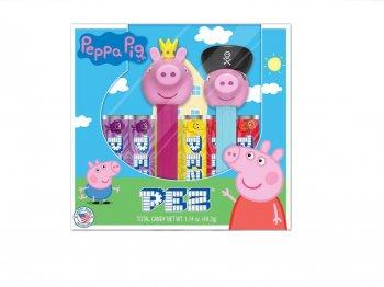 PEZ ペッパピッグ ボックス入り 2点セット プリンセスペッパ&パイレーツジョージ ペッツ Peppa Pig