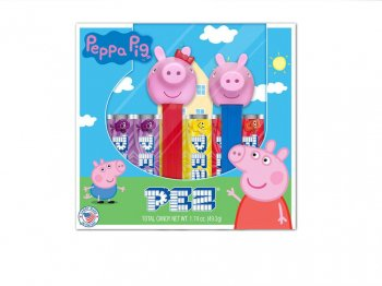 PEZ ペッパピッグ ボックス入り 2点セット ペッパ & ジョージ ペッツ Peppa Pig