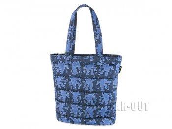 MoMA ユニクロ キース・ヘリング Keith Haring アート ブルー ウルフ トートバッグ 鞄
