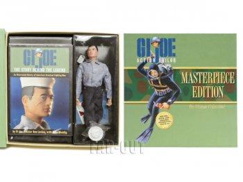 GIジョー アクション セーラー 復刻版 ポーザブルドール 人形 ヒストリーブック付き ボックス入りセット G.I. Joe Action Sailor Masterpiece Edition