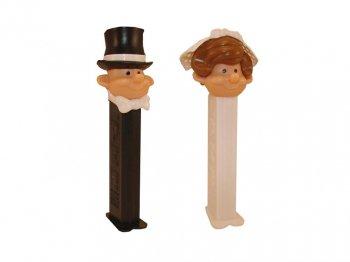 PEZ ウェディング ブライド&グルーム 2点セット 結婚式 花嫁 花婿 ペッツ