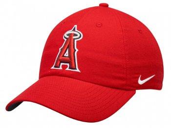 NIKE ロサンゼルス エンゼルス オブ アナハイム ロゴ ベースボールキャップ ゴルフキャップ ナイキ DRI-FIT 野球 帽子 RED 大リーグ MLB NEW ERA LOS ANGELES