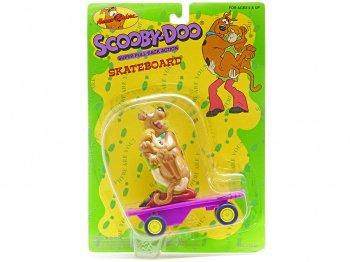スクービー・ドゥー w/ シャギー プルバック スケートボード フィギュア 1996年 ハンナ・バーベラ Scooby-Doo Shaggy Pull Back Skateboard Hanna-Ba