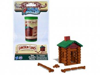 WORLD'S SMALLEST リンカーンログハウス レトロ ミニチュア フィギュア トイ Lincoln Logs