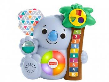 フィッシャープライス リンキマルズ コアラ カウンティング トイ ライトアップ & サウンド 英語版 知育玩具 Fisher-Price Linkimals Lights & Colors Count