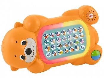 フィッシャープライス リンキマルズ ラッコ アルファベット トイ ライトアップ & サウンド 知育玩具 Fisher-Price Linkimals Lights & Colors  A to Z O