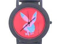 アンディ・ウォーホル プレイボーイラビット 腕時計 レッド