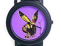 アンディ・ウォーホル プレイボーイラビット 腕時計 パープル