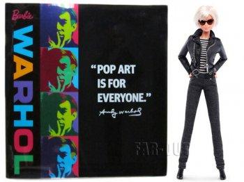 バービー アンディ・ウォーホル ドール 人形 プラチナラベル 限定999体 Barbie Andy Warhol Platinum