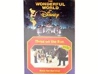 THE WONDERFUL WORLD OF Disney 映画ビデオ Three on the Run ディズニー