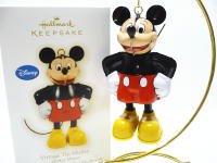 ホールマーク 2009 オーナメント ミッキー ブリキ製 Vintage Tin Mickey ディズニー