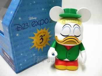 D23 Expo USA 2011 バイナルメーション ドナルドのいとこ Gladstone Gander Duck フィギュア ディズニー Disney Vinylmation
