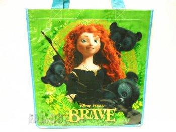 メリダとおそろしの森 ポケット付き ショッピング エコバッグ ストア版 ディズニー 鞄