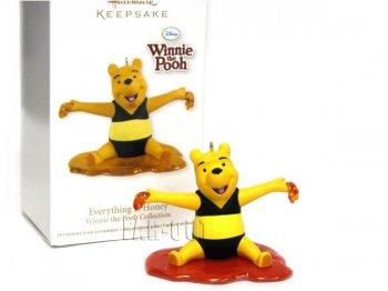 ホールマーク 2012 オーナメント くまのプーさん はちみつのプール Everything is Honey ディズニー