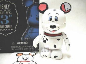 ディズニー バイナルメーション パークシリーズNo2 シークレット Chaser 101匹わんちゃん ポンゴ フィギュア Disney Vinylmation