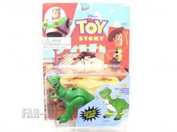 トイストーリー アクションフィギュア 恐竜 レックス Thinkway社 1995年 ディズニー