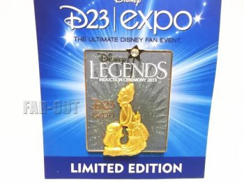 D23 Expo USA 2013 Disney Legends レジェンド ピンズ ディズニー