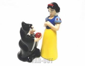 白雪姫&魔女 ウィッチ ソルト&ペッパー フィギュア セット Westland社 ディズニー フィギュアリン