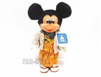 東京ディズニーランド 1983 ミッキー 紋付き袴 着物 ぬいぐるみ ドール 人形