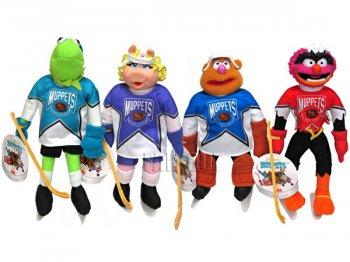 マクドナルド マペッツ カーミット&フレンズ NHL アイスホッケー プロモーション ぬいぐるみ 4点セット ディズニー