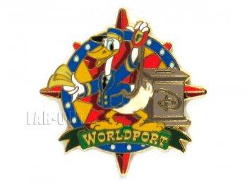 WDW ドナルド ワールドポート プロモーション ピンズ ディズニー