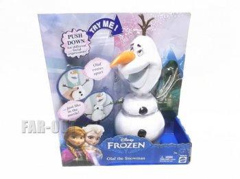 アナと雪の女王 スノーマン オラフ アクションフィギュア ドール 人形 ボックスケース入り ディズニー