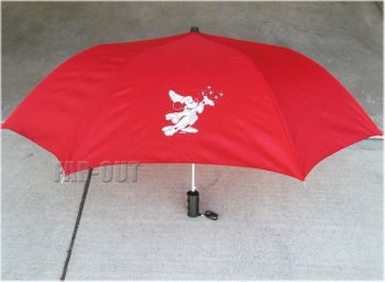 WDI ソーサラーミッキー レッド キャスト限定 折りたたみ式傘 かさ ディズニー