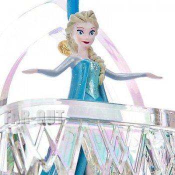 アナと雪の女王 エルサ バルコニーシーン シンギング オーナメント ストア限定 ディズニー