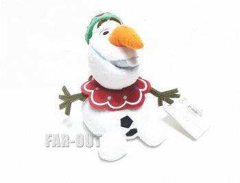 アナと雪の女王 スノーマン オラフ サンタ帽 クリスマス 2014 スモールサイズ ぬいぐるみ ストア版 ディズニー