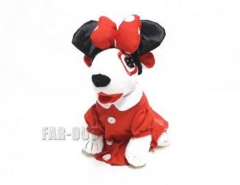 ミニーマウス Bullseye ブルズアイ ブルテリア犬 ぬいぐるみ ターゲット限定 ディズニー