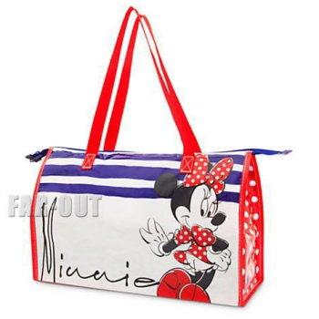 ミニーマウス バレンタイン 2015 ファスナー付き ショッピング エコバッグ ストア限定 ディズニー 鞄