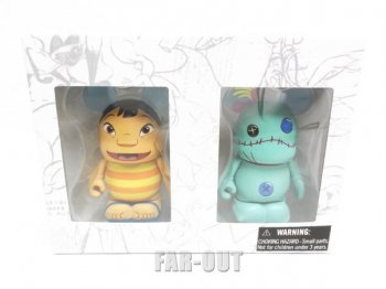 バイナルメーション リロ&スクランプ フィギュア 2体入りセット ディズニー Disney Vinylmation